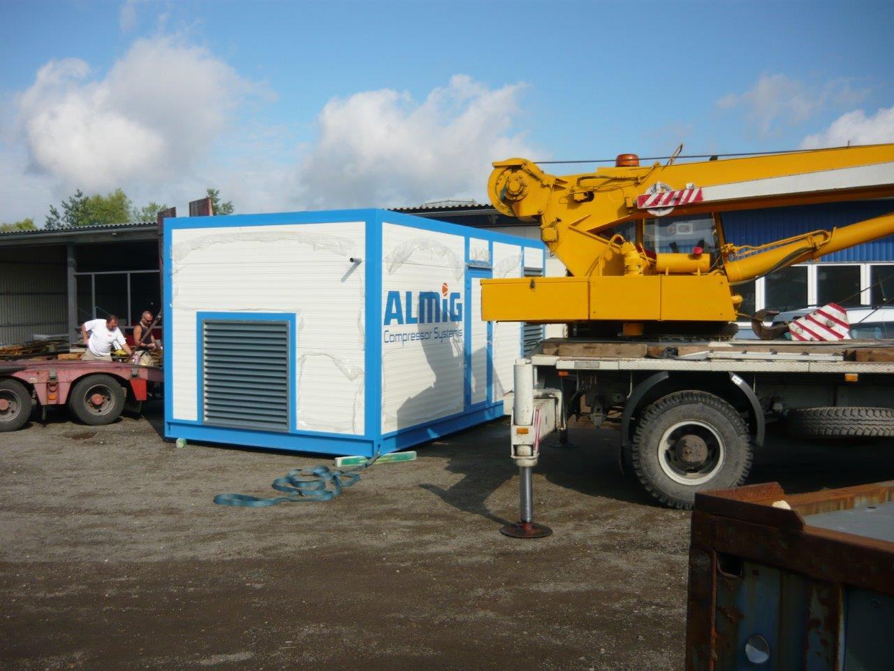 Technologický kontejner pro firmu KAUTEX Kněžmost