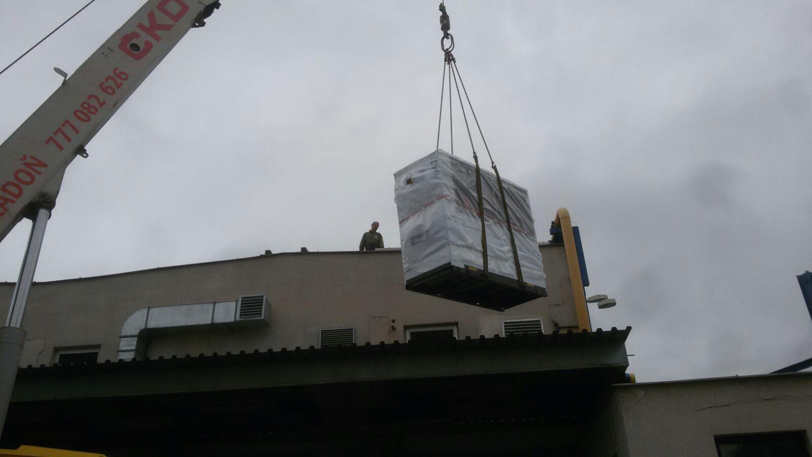 Instlalace bezolejového kompresoru LENTO 110