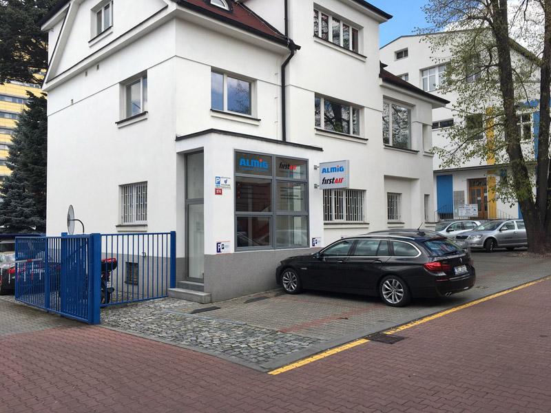 Nová pobočka v Praze