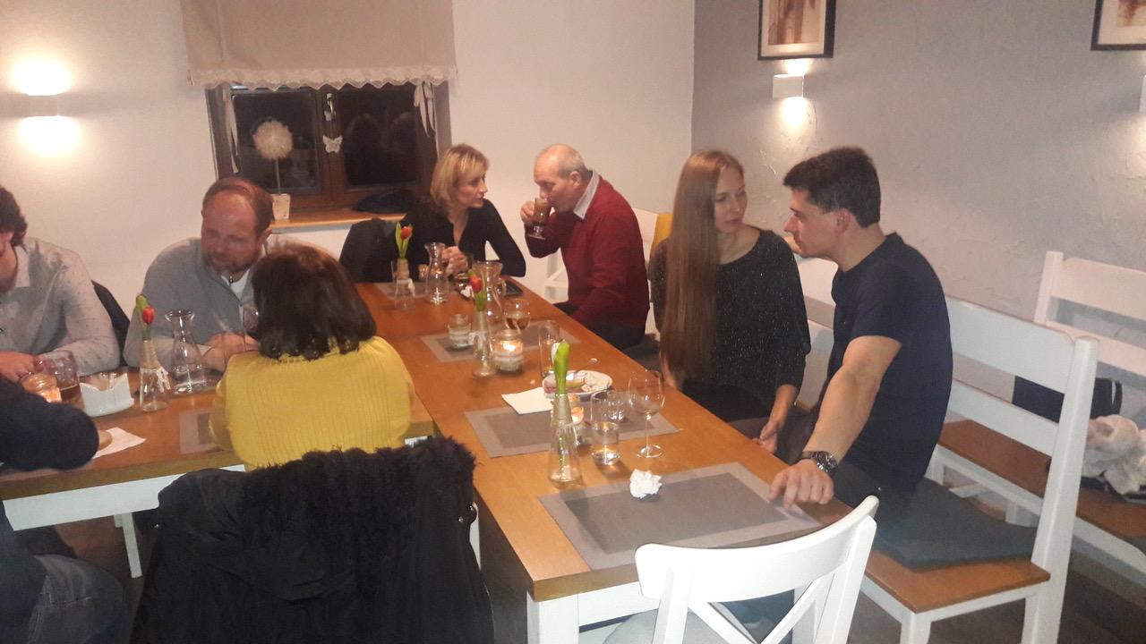 Setkání s partnery naší firmy - Sedlec