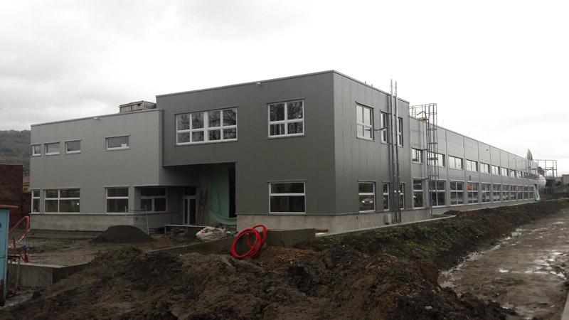 Instalace kompresorové stanice ve firmě Constellium Extrusions Děčín